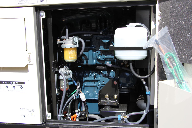 Фото системы соединений внутри генератора Shindaiwa